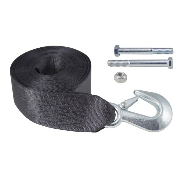 Dutton-Lainson 6249 20 ft Heavy Duty Winch Strap with Hook