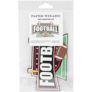 Paper Wizard Die-Cut, Football