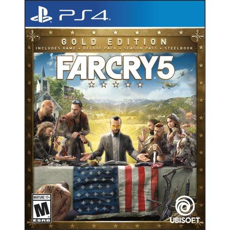 Far Cry 5 Steelbook Gold Edition  Ubisoft  Playstation 4  887256028947