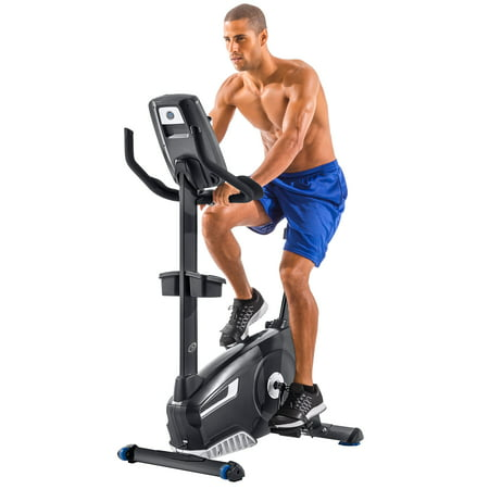 Nautilus U618 Bluetooth Upright Bike Syncs with RideSocial & Nautilus Trainer 2 App ()