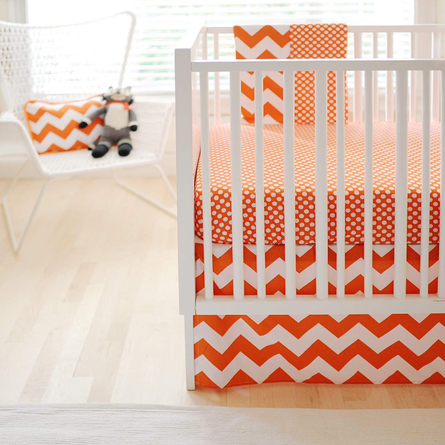 New Arrivals Zig Zag Baby 2 Piece Crib Bedding Set, Tange...