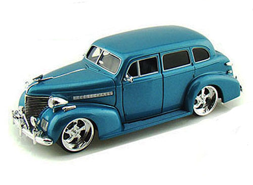 1939 Chevy Master Deluxe, Blue Jada Toys Bigtime Kustoms 90224 1 24 scale Diecast Model... by Jada