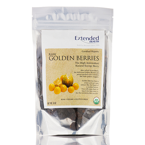 Raw Golden Berries (Organic) - 6 oz by Extended Health