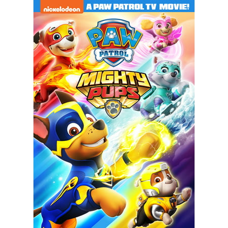 Paw Patrol: Mighty Pups (DVD + Digital Copy)