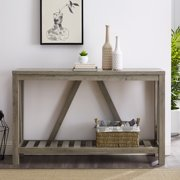 Manor Park Modern Farmhouse Console Table - Multiple Finishes