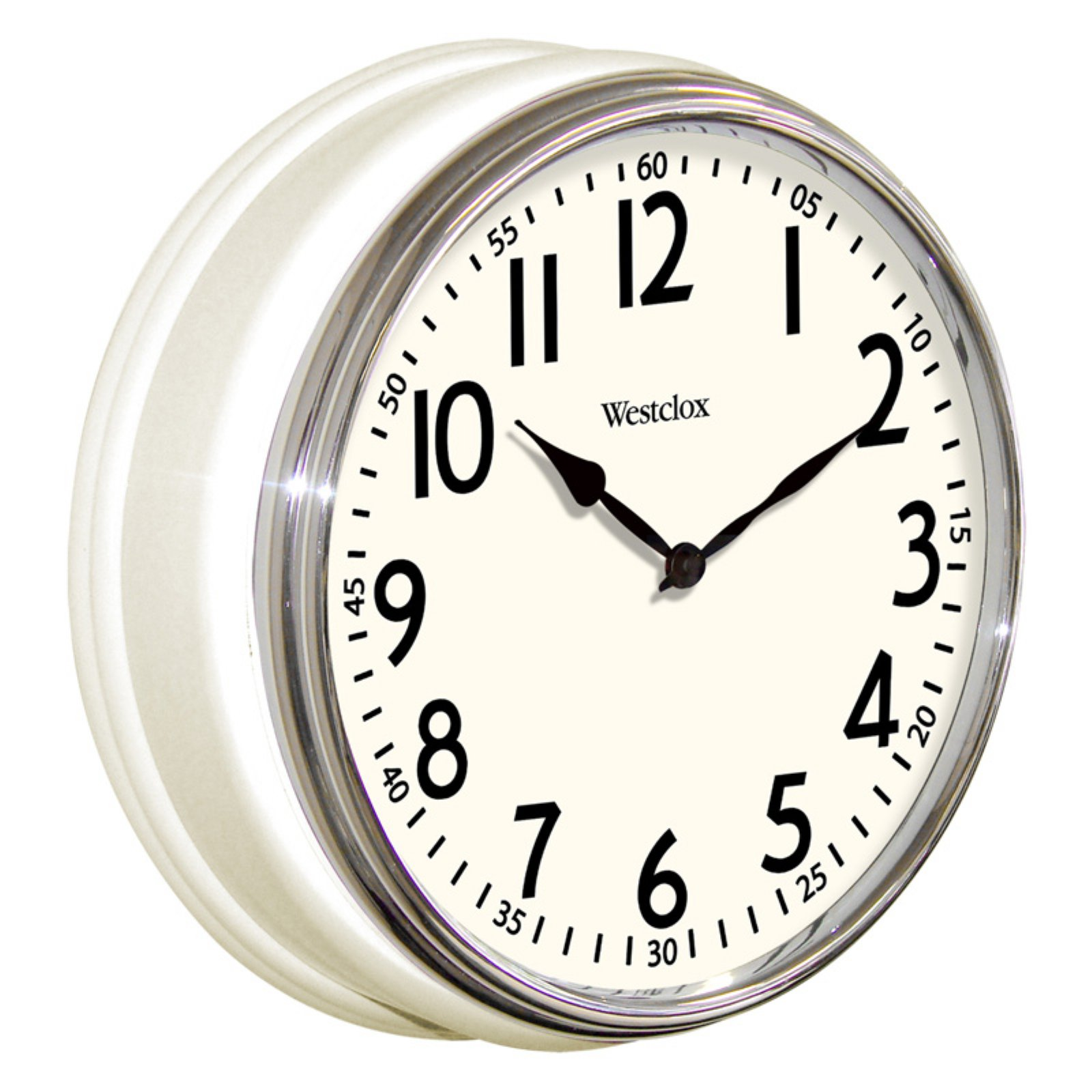 Exceptional Westclox Vintage Kitchen Wall Clock 32041AW
