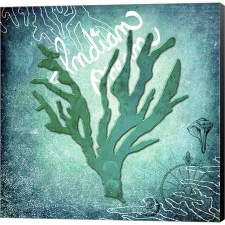 Metaverse LightBoxJournal 'Indian Ocean Coral' Canvas Art Zuni Indian Coral
