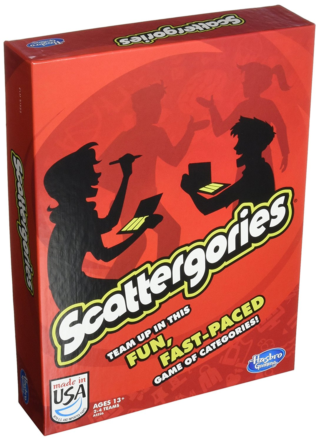 Scattergories Game, Scattergories By Hasbro by
