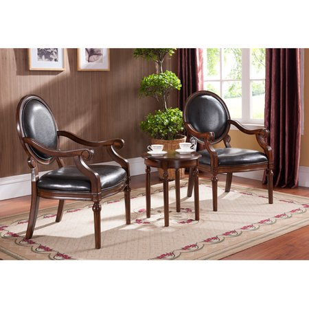 bestmasterfurniture traditional 3 piece living room arm chair set