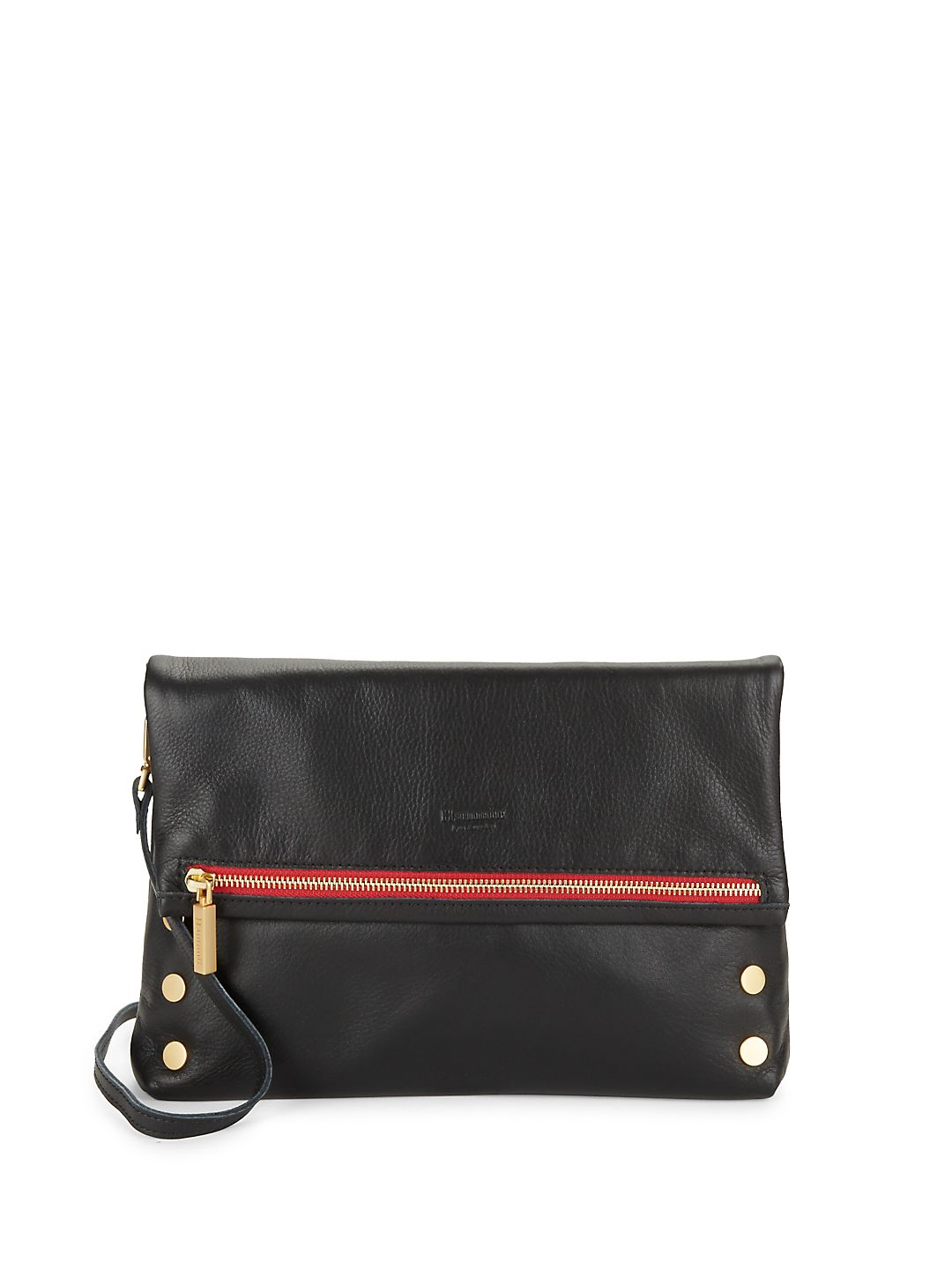 Flap Pebbled Leather Shoulder Bag