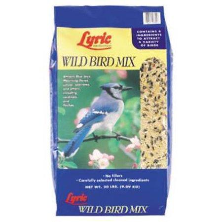 Lyric 20 LB Wild Bird Food Mix All Seed Eating Birds Are