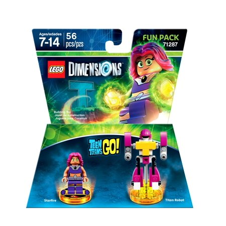 Lego Dimensions Teen Titans Go Fun Pack (Universal) - Raven Teen Titans Go Legs
