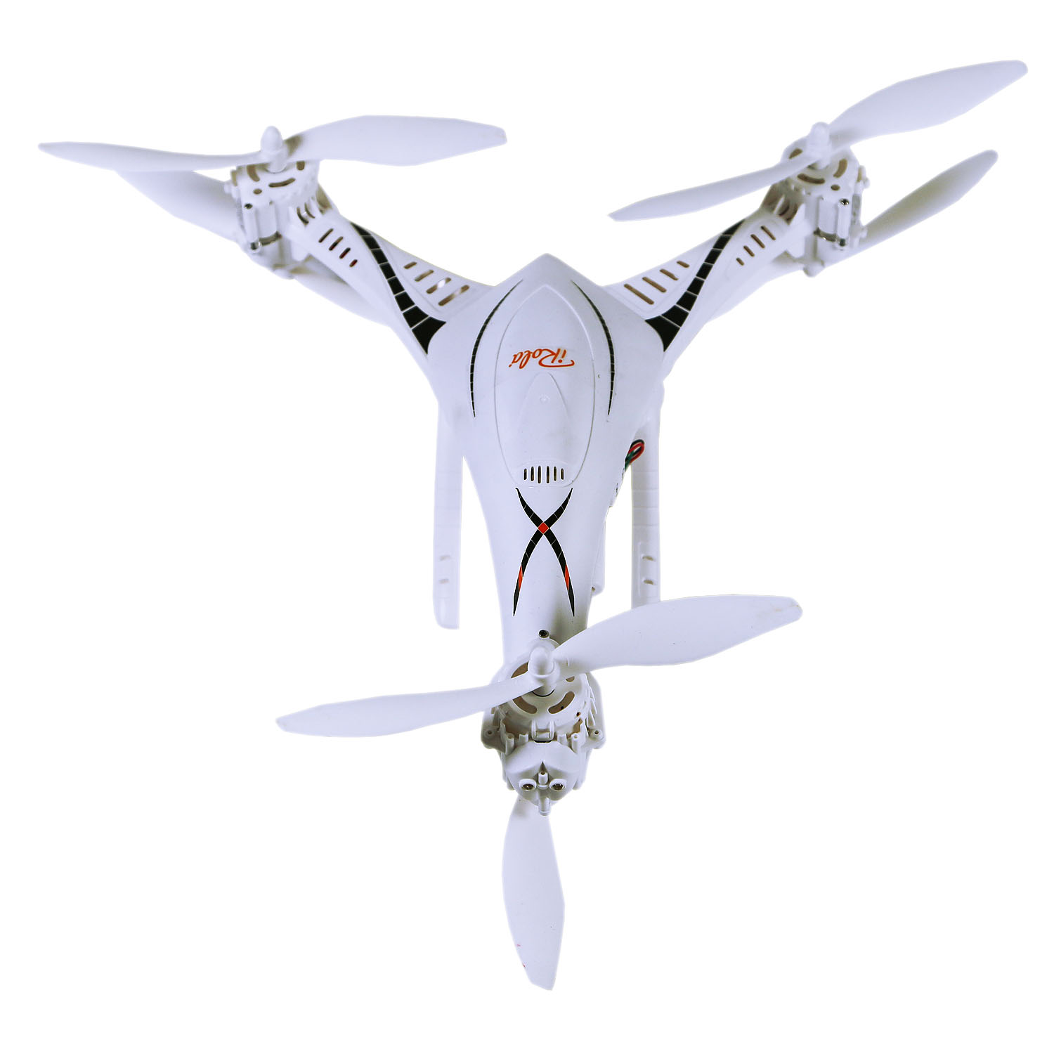 iRola - Remote Control 6-Axis Gyro/6-Motor Copter Drone with HD Camera