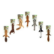 SPOT Skinneeez Stuffing Free Plush Squirrel Dog Toy, 13""