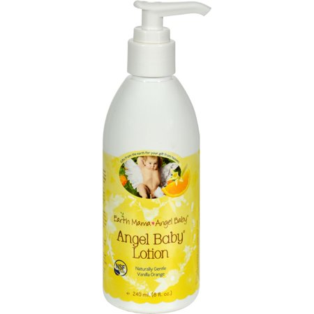Earth Mama Angel Baby Lotion Vanilla Orange 8 Fl Oz
