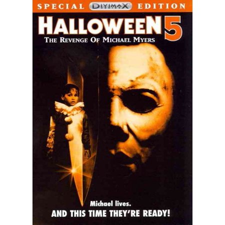 Halloween 5: The Revenge Of Michael Myers (DVD) - Halloween Parties London 2017