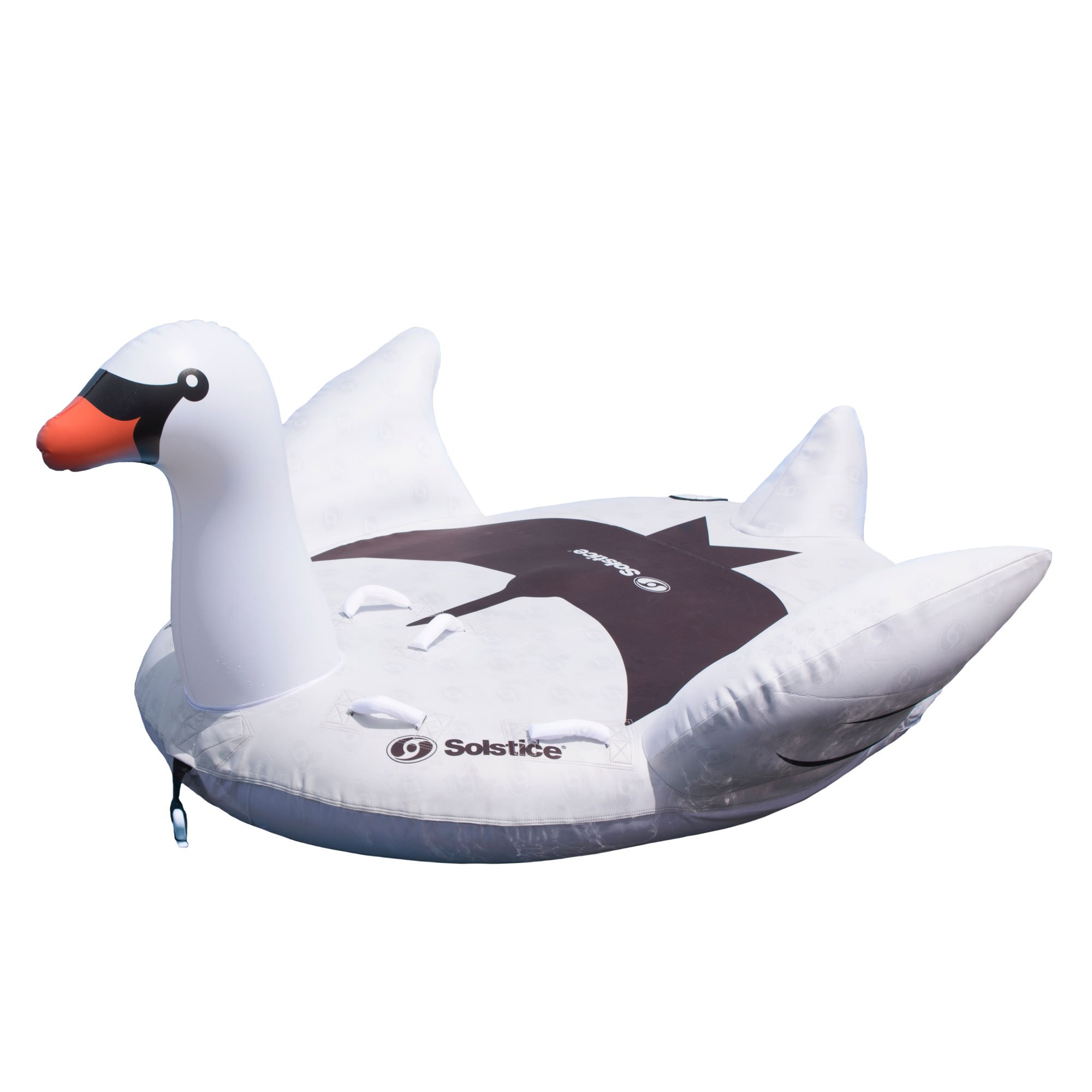 Swimline Solstice Water Sport Inflatable Swan 1 to 2 Rider Boat Towable Tube by Swimline
