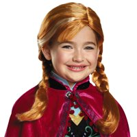 Frozen Girls Anna Child Wig