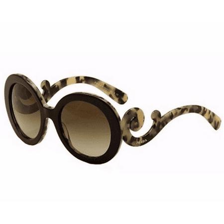 c7e6f2eef6 Prada - PRADA Sunglasses PR 27NS ROK4M1 Black White Havana 55MM -  Walmart.com