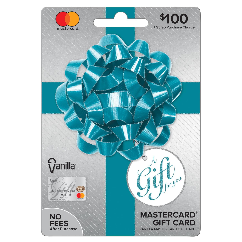 Vanilla Mastercard $9 Party Bow Gift Card - Walmart.com