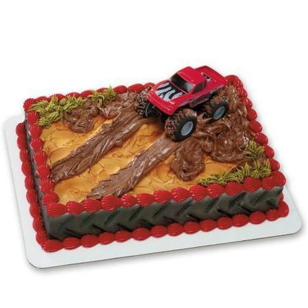 Monster Truck Decoset Cake Decoration Walmart Com
