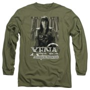Xena Warrior Princess Honored Mens Long Sleeve Shirt