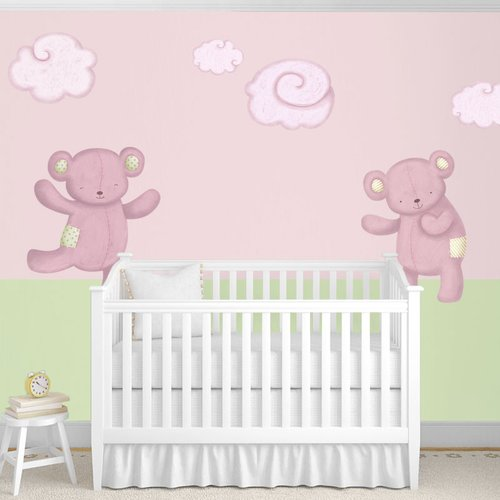 My Wonderful Walls Teddy Bears and Cloud Wall Stickers