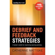 Debrief and Feedback Strategies