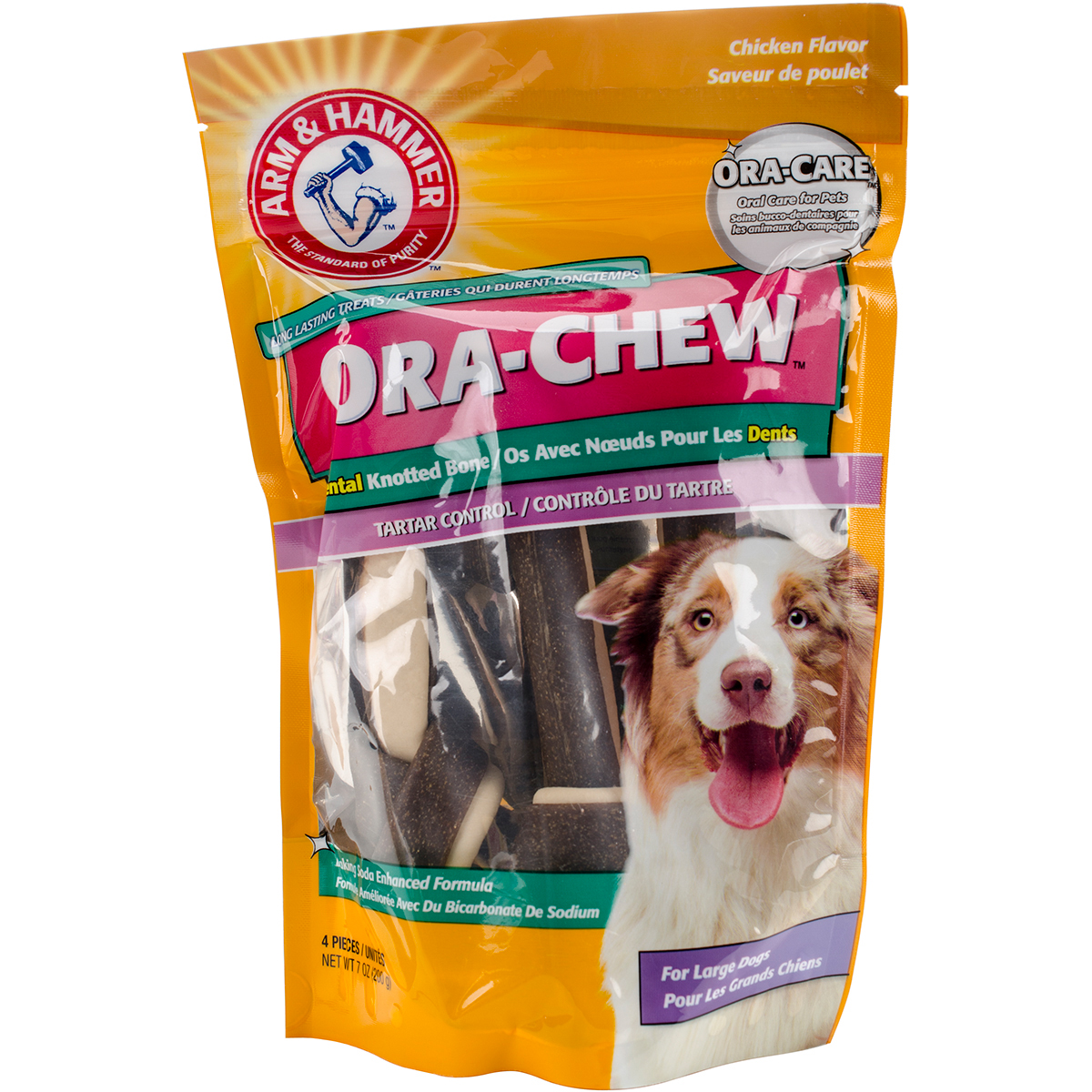 Arm & Hammer Knotted Bone Treat-Large Dog