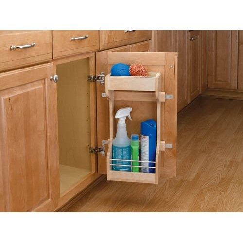 Rev-a-Shelf Door Storage Cleaning Organizer