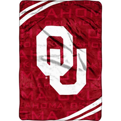 NCAA Oklahoma Sooners Micro Raschel Blanket