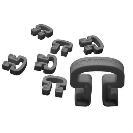 Bulk Kwik Lock Net Clips, 100 Pack, Black ()