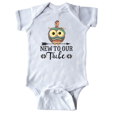 Baby Boy Tribal New to our Tribe Infant Creeper