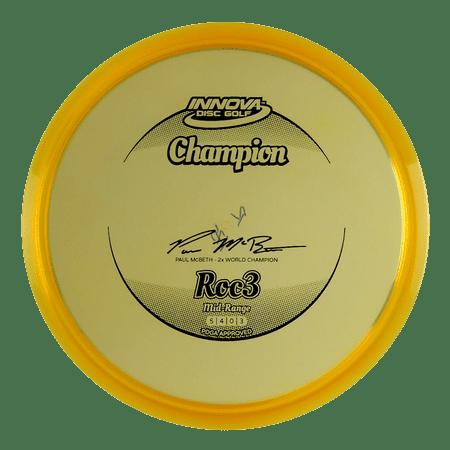 Innova Champion Roc3 170-174g Midrange Golf Disc [Colors may vary] -