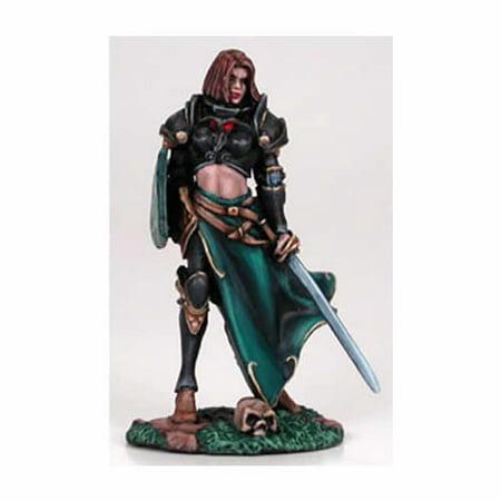 Dark Swords (Female Cavalier With Long Sword Miniature Visions In Fantasy Dark Sword)