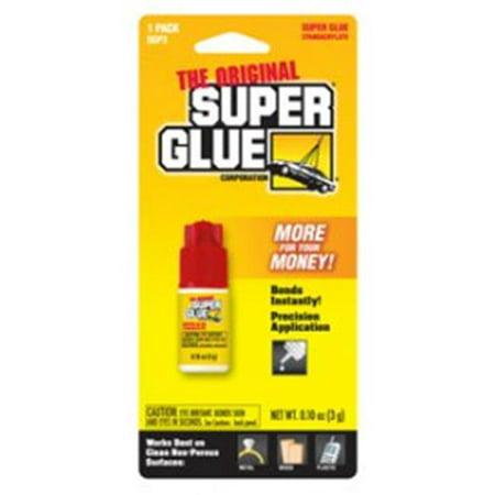 Super Glue SGP3-12 3 gm Spill Resistant Plastic Bottle - Pack of 12