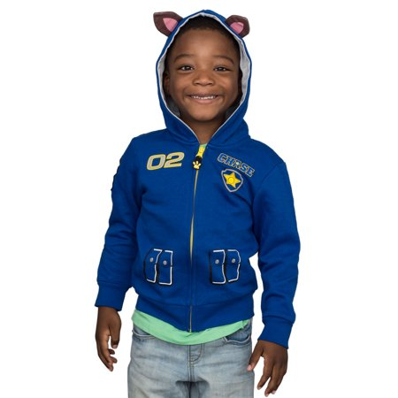 Paw Patrol Children I am Chase Zip up Blue