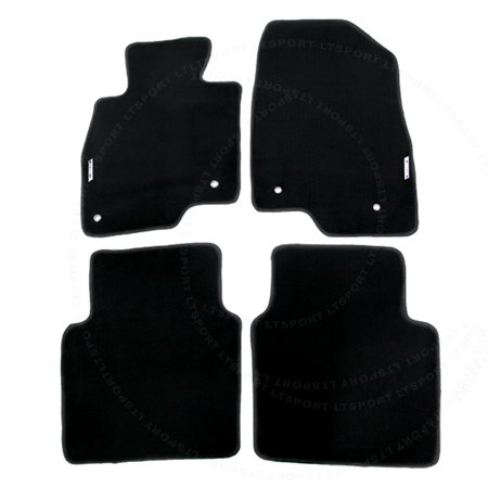 Fit 16-UP Mazda 6 Sedan Custom Fit Premium Nylon Black Floor Mats Carpet For 2016 14 15 16 17  Mazda 6 (Mazda 6 Sports Sedan)