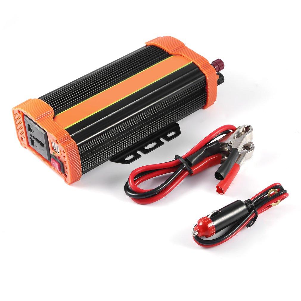 P500C 500W Portable Car Power Inverter DC12V to AC220V So...