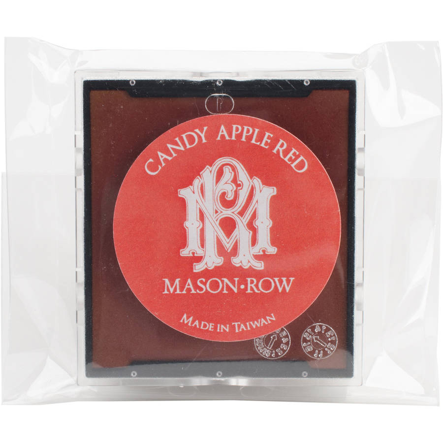 Self-Inker Ink Pad, Candy Apple Red