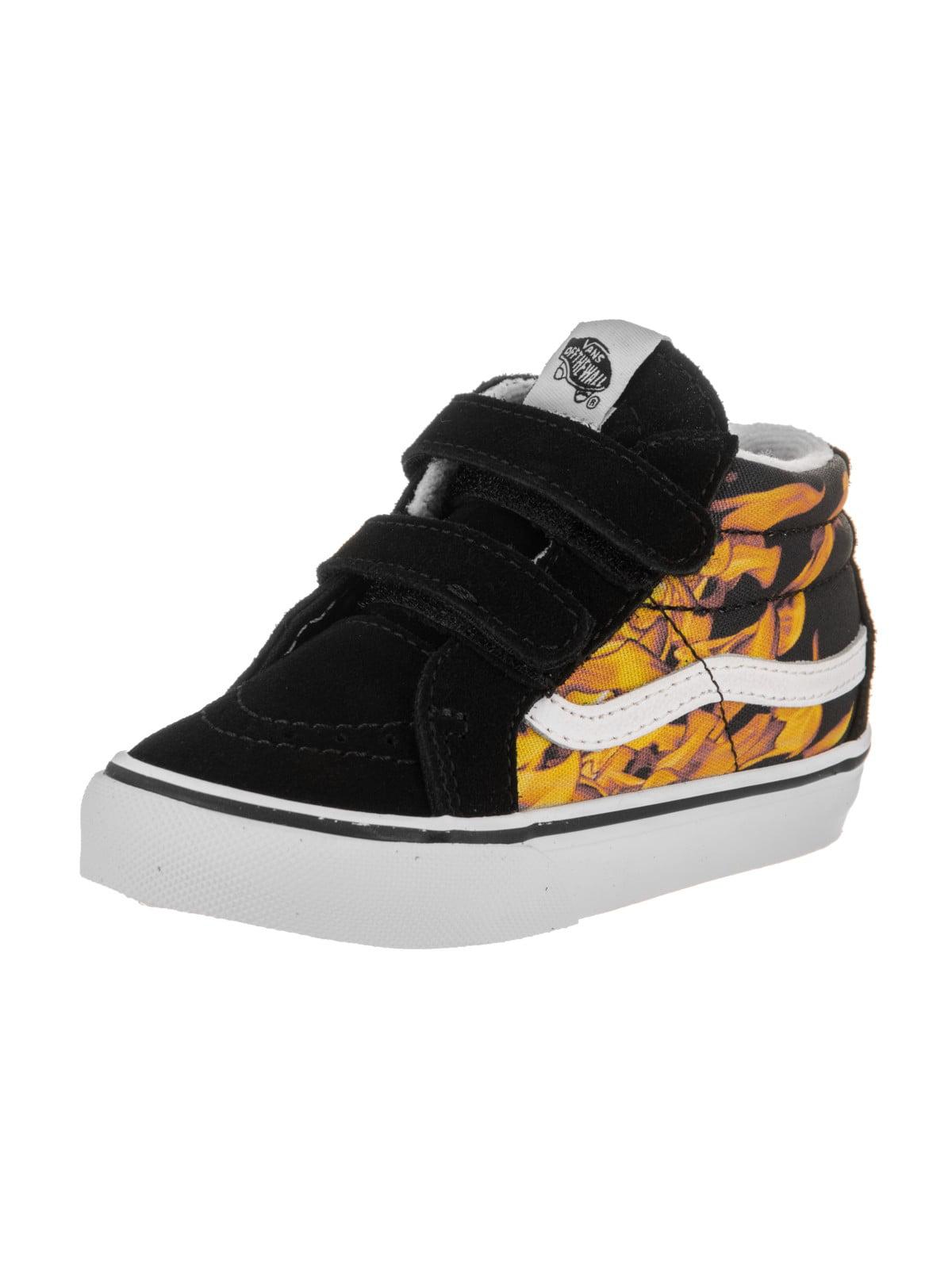 52aa909dd6 Vans Toddlers Sk8-Mid Reissue V (Digi Flame) Skate Shoe - Walmart.com