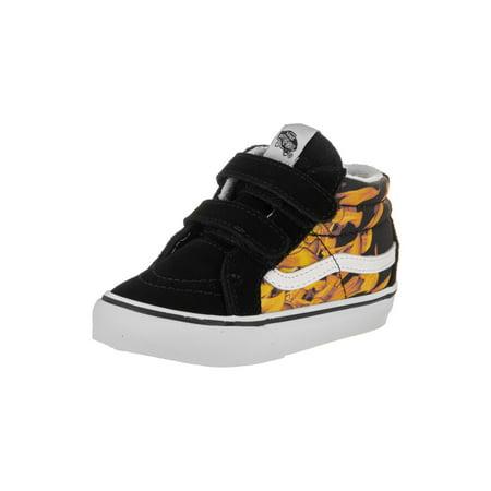 1a639a5bdc Vans - Vans Toddlers Sk8-Mid Reissue V (Digi Flame) Skate Shoe - Walmart.com