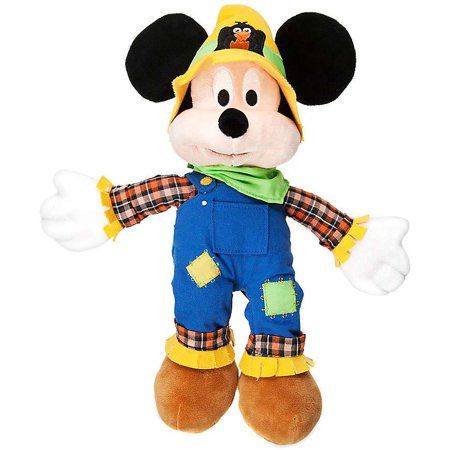 Disney Halloween Mickey Mouse Plush [Scarecrow (Characters At Mickey's Halloween Party Disney World)