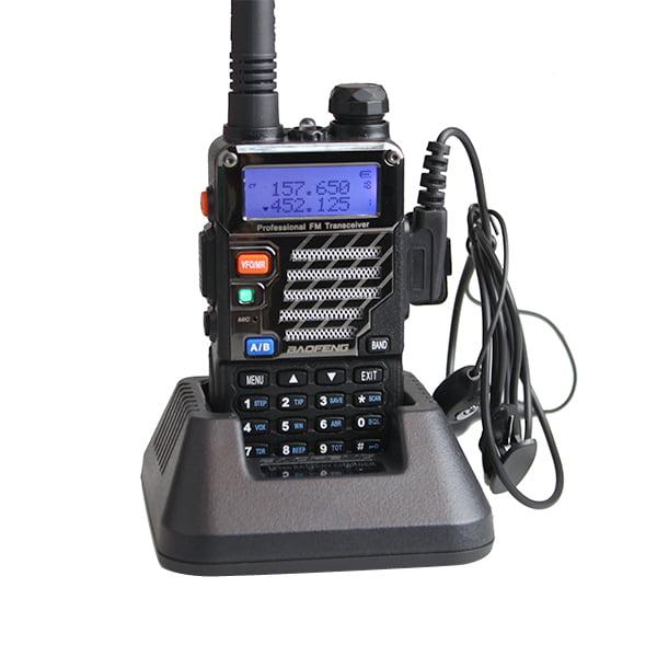 2PCS BaoFeng UV-5RE New Walkie Talkie Dual Band 128 Channel U/V