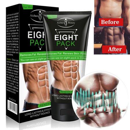 Tbest Fat Burner Gel unisexe Crème amincissante Fat Burning ventre musculaire anti-cellulite Crèmes Resserrer les muscles Esse