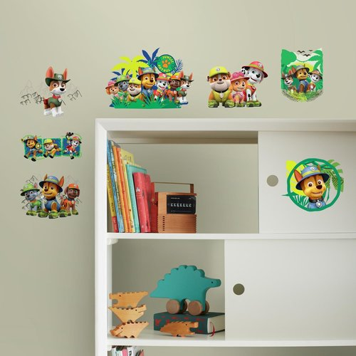 Paw Patrol - Jungle Peel And Stick Wall Decals