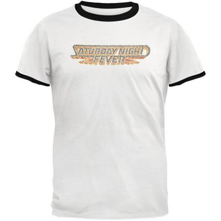 Saturday Night Fever - Logo T-Shirt (Saturday Night Fever Clothing Styles)