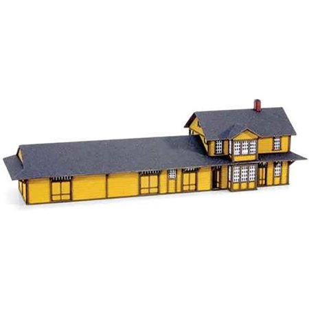 Micro-Trains MTL Z-Scale Train Station Model Railroad Building Kit