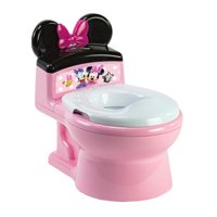 Disney ImaginAction Minnie Mouse 2-in-1 Potty Training Toilet, Toddler Toilet and Training Seat