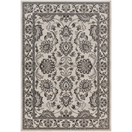Alcott Hill Canfield Gray Area Rug